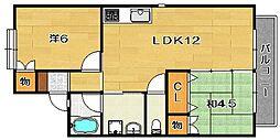 コーポグリーンストーク[2階]の間取り