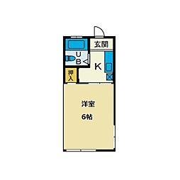 グリーンヒルズ和田[2階]の間取り