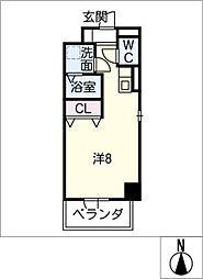 サン・名駅太閤ビル[10階]の間取り