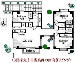 原田マンション[2F号室]の間取り