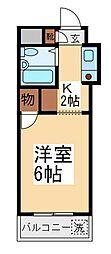 ウィンベルソロ朝霞第1[1階]の間取り