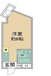 兵庫県神戸市東灘区本山中町1丁目の賃貸マンションの間取り
