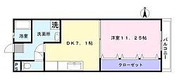 リッチ・キャッスル2[101号室]の間取り