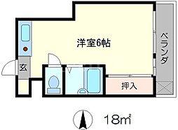 メイコービル[3階]の間取り