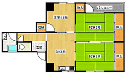 AC井堀[3階]の間取り