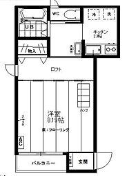 M-FLAT[3階]の間取り