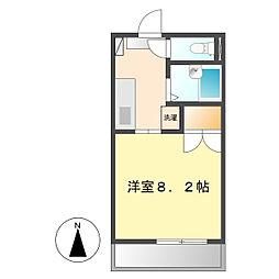 ベルハウス2[201号室]の間取り