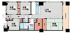 内淡路町ハウス[3階]の間取り