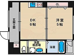 西田辺駅 6.7万円
