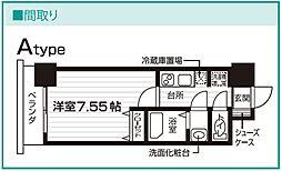 Nasic仙台東口[202号室号室]の間取り