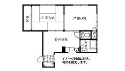 五十川ビル--[301号室]の間取り