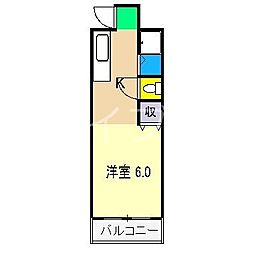 パインヴィレッジ[2階]の間取り