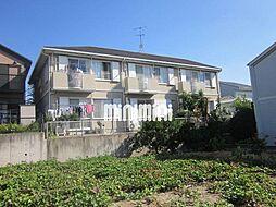 愛知県名古屋市天白区植田東2丁目の賃貸アパートの外観