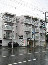 北海道札幌市東区北二十四条東9丁目の賃貸マンションの外観