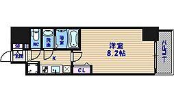 プライムアーバン御堂筋本町[13階]の間取り