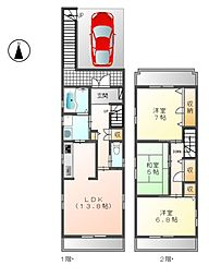 ネットハウス[2階]の間取り