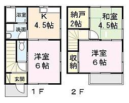 [テラスハウス] 埼玉県さいたま市北区別所町 の賃貸【埼玉県 / さいたま市北区】の間取り
