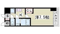 サムティ神戸BENIR[3階]の間取り