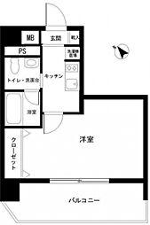 フロントシティ文京[3階]の間取り