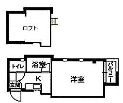 PLEAST愛宕II[302号室]の間取り