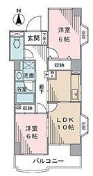 メゾンルファール[7階]の間取り