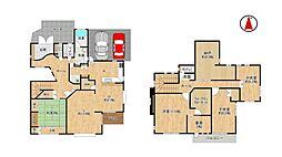 充実の4SLDK全ての居室がゆとりのある広さ