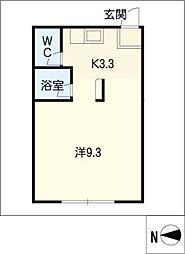 広栄荘7棟[1階]の間取り