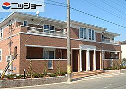 愛知県豊川市蔵子6丁目の賃貸アパートの外観