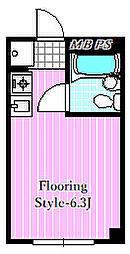 ハイブリッジマンション[3階]の間取り