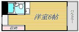 千葉県千葉市花見川区幕張本郷4丁目の賃貸マンションの間取り