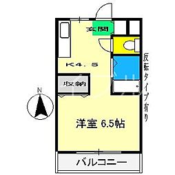 ジョイフル大川筋[1階]の間取り