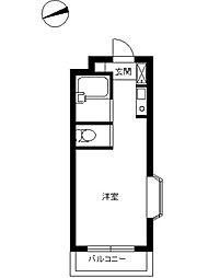 スカイコート西川口第9[5階]の間取り