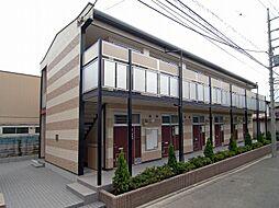 東京都葛飾区新宿2の賃貸アパートの外観