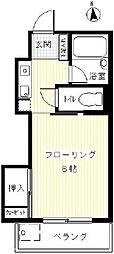 アパートメント・サンコー[S号室]の間取り