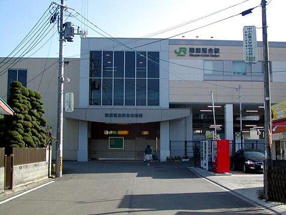 JR仙山線陸前...