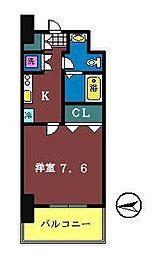 Humanハイム船橋[8階]の間取り