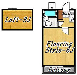 エクセル2[2階]の間取り