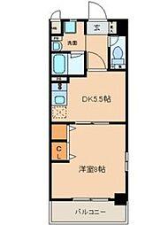 太閤通マンション[2階]の間取り
