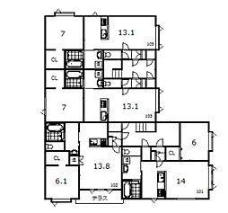 豊岡1−1新築[103号室]の間取り