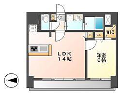 FIRST RESIDENCE SAKAEファーストレジデン[14階]の間取り