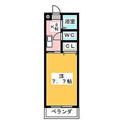 エトワールシミズI[3階]の間取り