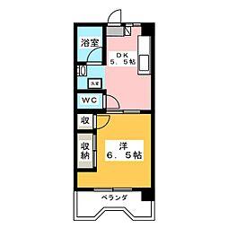 メゾン水戸[2階]の間取り
