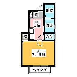 アンフィニIII[1階]の間取り