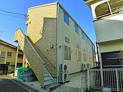 東京都足立区西新井本町2の賃貸アパートの外観