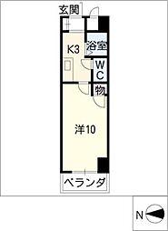 エクセル丸の内[6階]の間取り