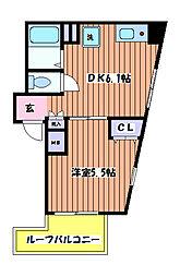 ジオンII[5階]の間取り