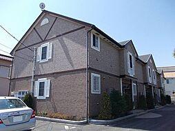 神奈川県小田原市鴨宮の賃貸アパートの外観