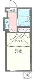 横浜サンライズパレス[102号室号室]の間取り