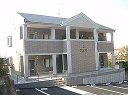 福岡県宗像市自由ヶ丘4丁目の賃貸アパートの外観
