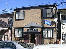 新潟県新潟市中央区万代5丁目の賃貸アパートの外観